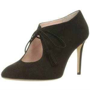 Kate Spade Tassel Black High Heels SZ 9